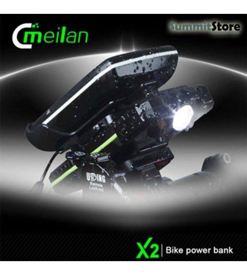 Meilan X2 Power Bank Multiproposito. Led Frontal y soporte Smartphone