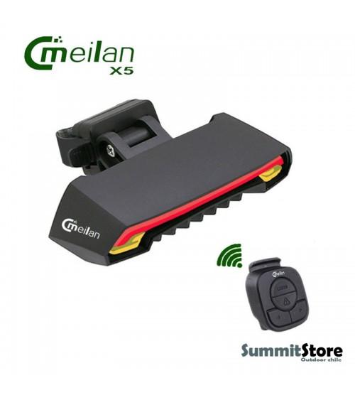 Meilan X5-B. Led Trasero con laser y luz de freno