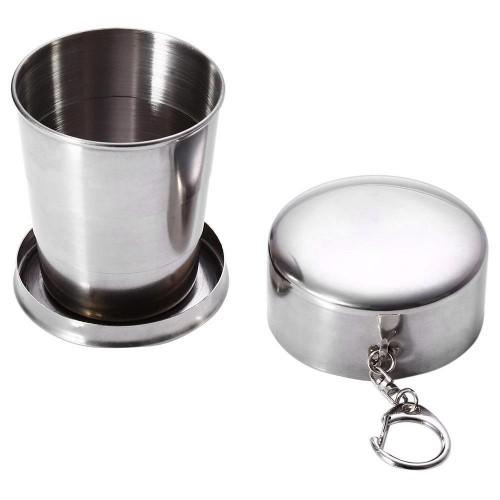 Vaso plegable acero inox
